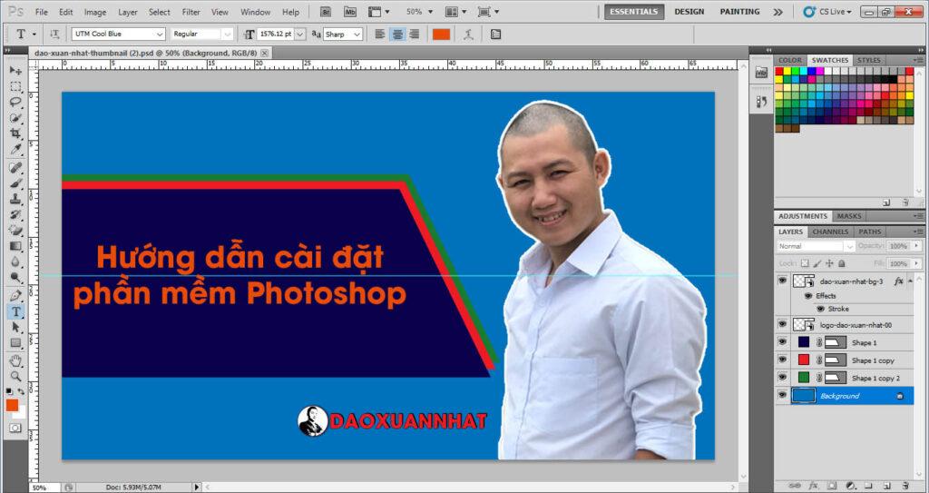 Hướng dẫn cài đặt phần mềm Photoshop