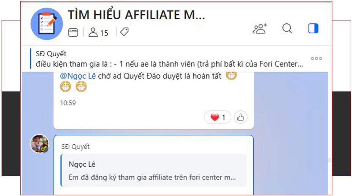 Hướng dẫn đăng ký tài khoản Affiliate kiếm tiền với Fori Affiliate